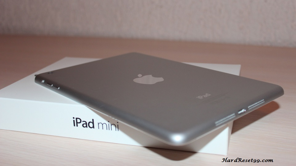 Apple iPad mini Wi-Fi 64 GB Hard Reset, Factory Reset & Password Recovery