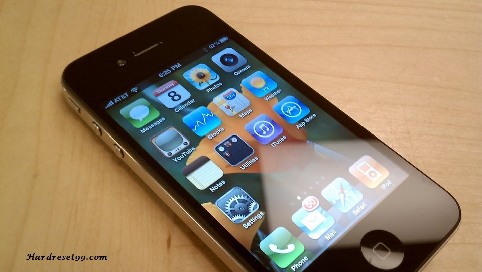 how to reset iphone 4 to sell