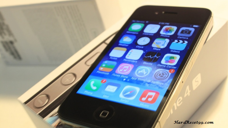 Apple iPhone 4S 16GB Hard Reset, Factory Reset & Password Recovery
