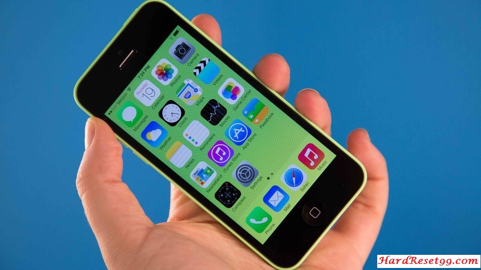 Apple iPhone 5c 8GB Hard Reset, Factory Reset & Password Recovery