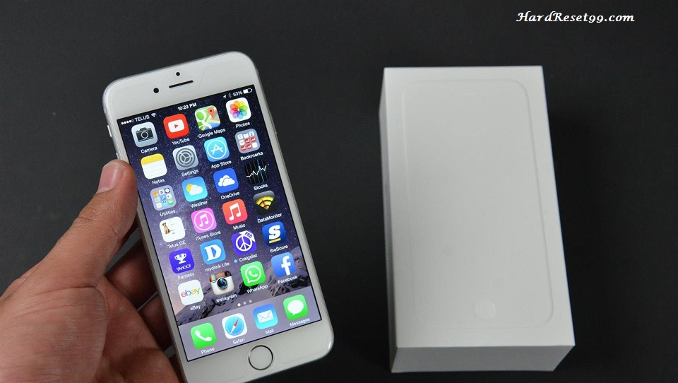 Apple iPhone 6 64GB Hard Reset, Factory Reset & Password Recovery