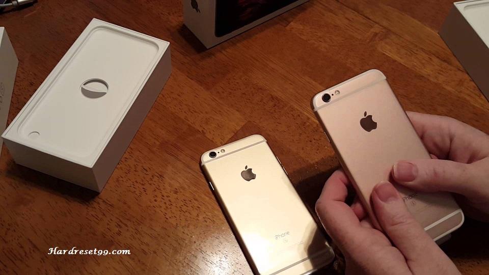 Apple iPhone 6s 64 GB Hard Reset, Factory Reset & Password Recovery