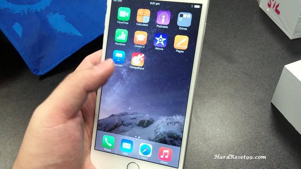 Apple iPhone 6s Plus 128 GB Hard Reset, Factory Reset & Password Recovery
