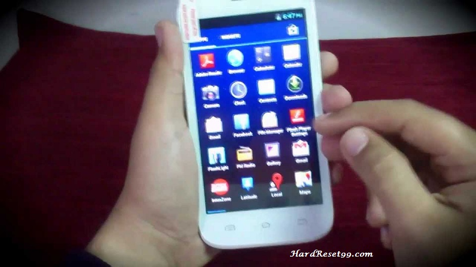 Intex Cloud M6 Hard reset, Factory Reset and Password Recovery