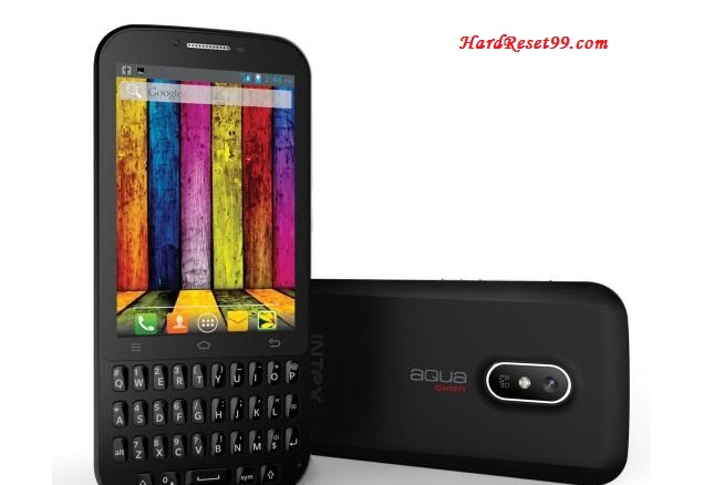 Intex aqua QWERTY Hard reset, Factory Reset and Password Recovery
