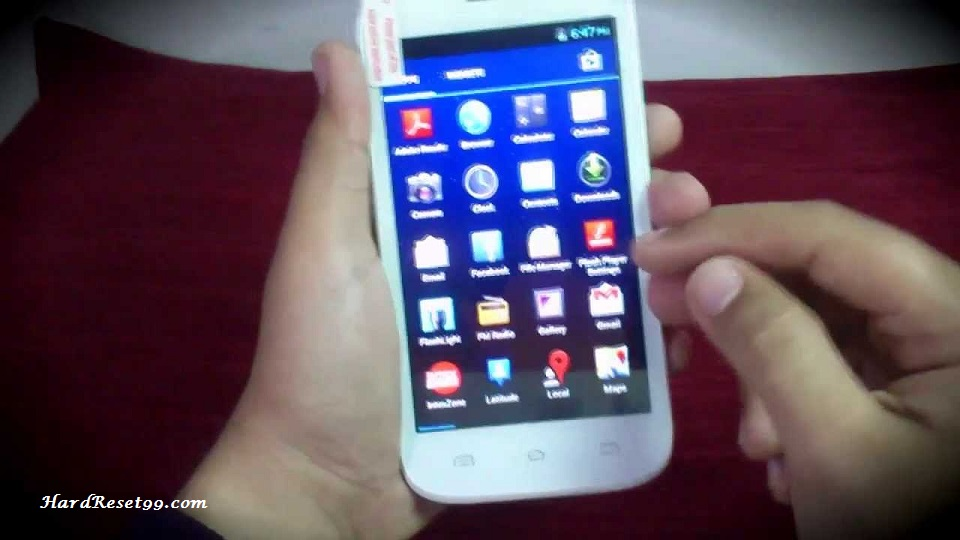 Intex cloud X5 Hard reset, Factory Reset and Password Recovery