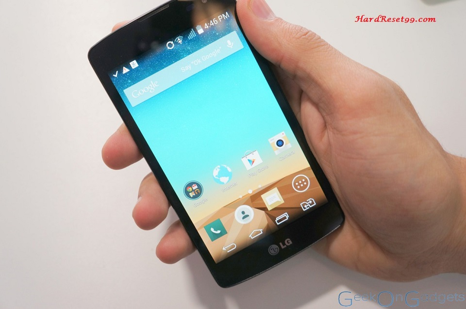LG L Fino Hard reset, Factory Reset and Password Recovery