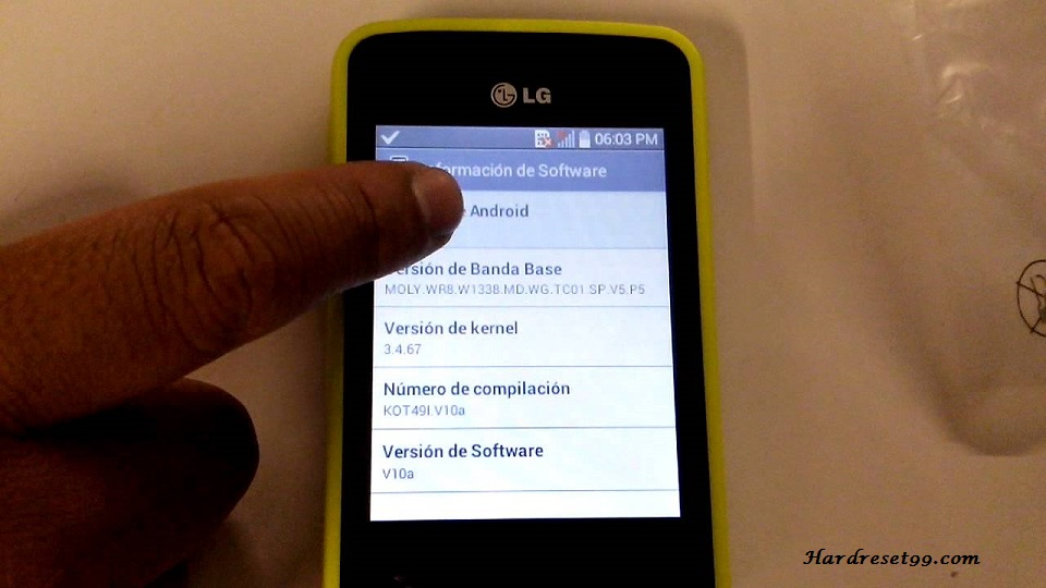 LG L30 Hard reset, Factory Reset and Password Recovery