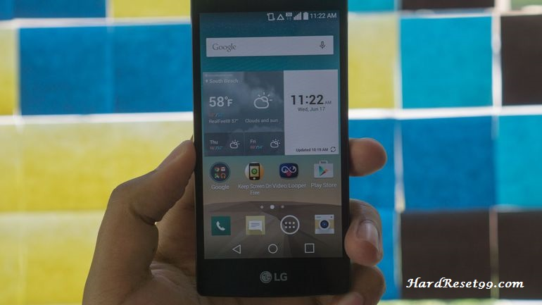 LG Logos Hard reset, Factory Reset and Password Recovery