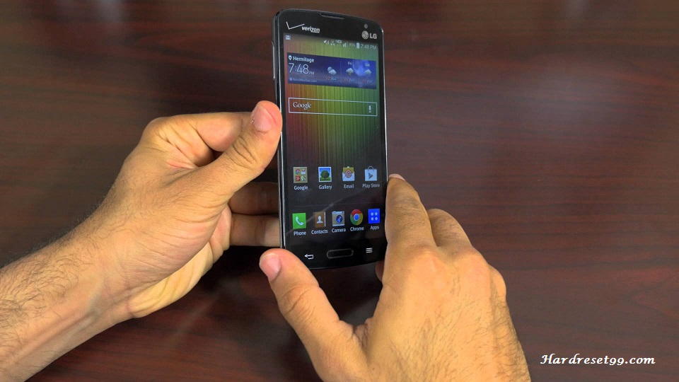 LG Lucid 3 Hard reset, Factory Reset and Password Recovery
