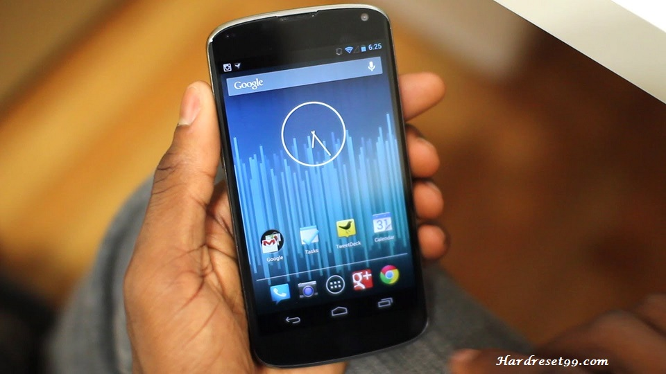LG Nexus 4 Hard reset, Factory Reset and Password Recovery