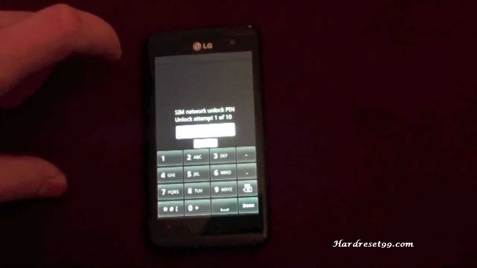 LG Optimus Chic Hard reset, Factory Reset and Password Recovery