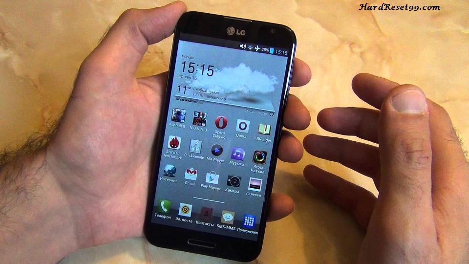 LG Optimus G Pro E988 Hard reset, Factory Reset and Password Recovery
