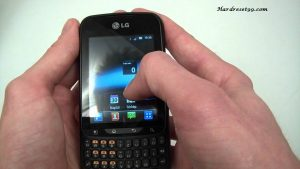 LG Optimus Pro Hard reset, Factory Reset and Password Recovery