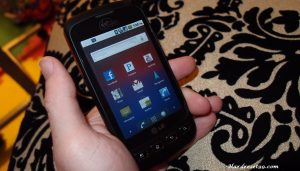 LG Optimus V Hard reset, Factory Reset and Password Recovery