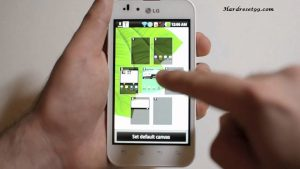 LG Optimus White Hard reset, Factory Reset and Password Recovery