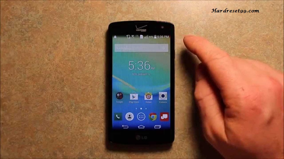 LG Transpyre Hard reset, Factory Reset and Password Recovery
