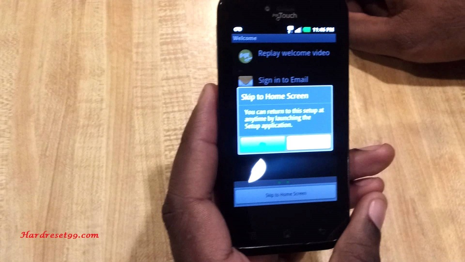 LG myTouch Hard reset, Factory Reset and Password Recovery