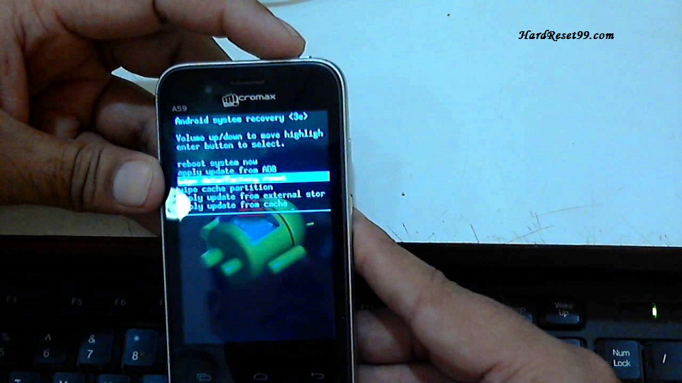Micromax A59 Hard reset, Factory Reset and Password Recovery