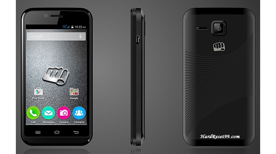 Micromax Bolt A82 Hard reset, Factory Reset and Password Recovery