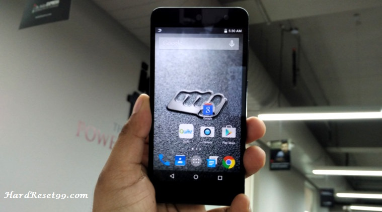 Micromax Canvas Nitro 3 Hard reset, Factory Reset and Password Recovery