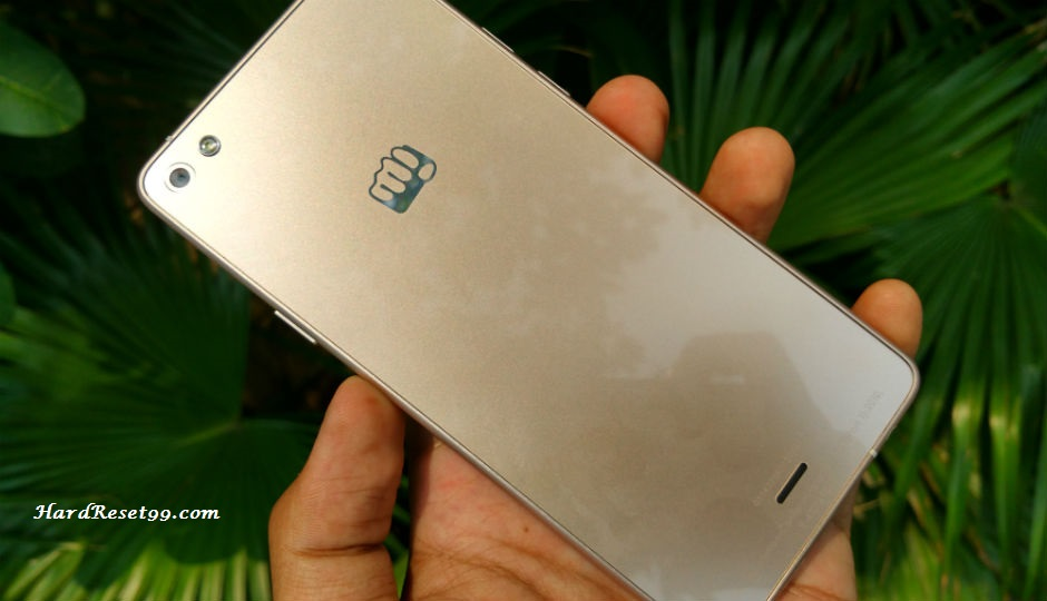 Micromax Canvas Sliver 5 Hard reset, Factory Reset and Password Recovery