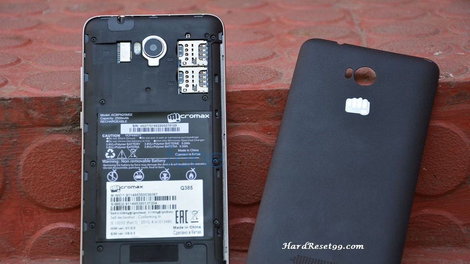 Micromax Canvas Spark Hard reset, Factory Reset and Password Recovery