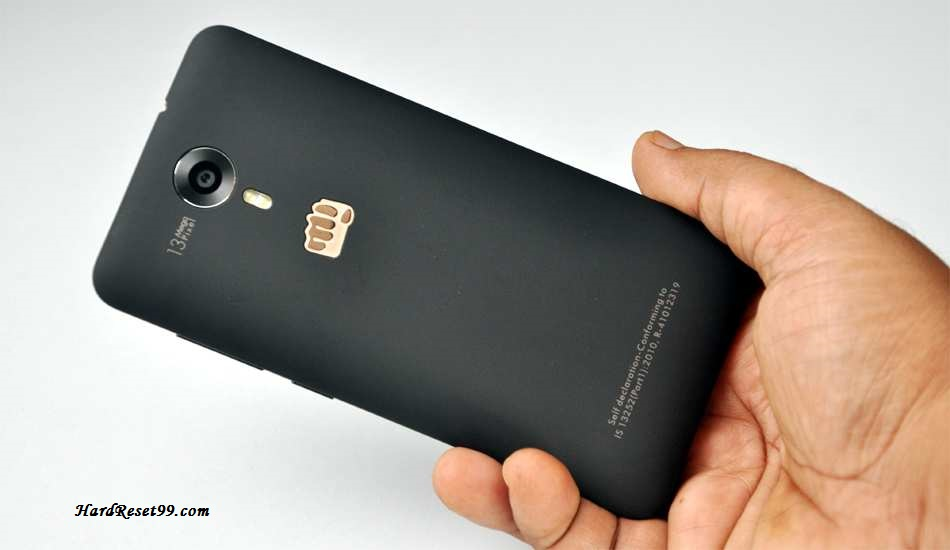 Micromax Canvas Xpress Hard reset, Factory Reset and Password Recovery