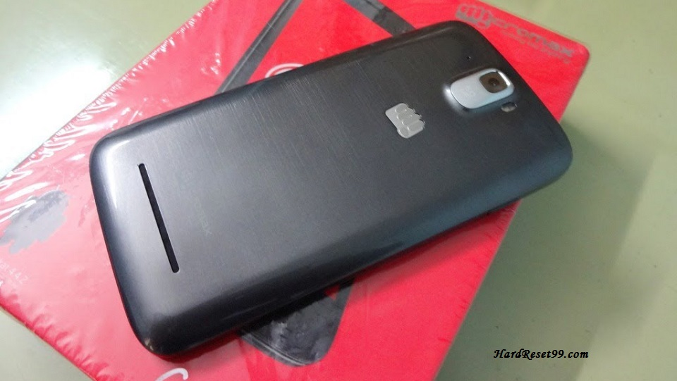 Micromax Canvas entice Hard reset, Factory Reset and Password Recovery