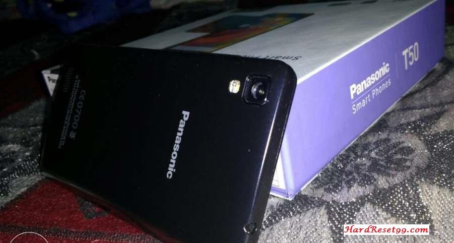 Panasonic T50 Hard reset, Factory Reset and Password Recovery