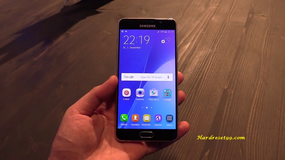 Samsung Galaxy A5 2016 Hard Reset Factory Reset And Password Recovery