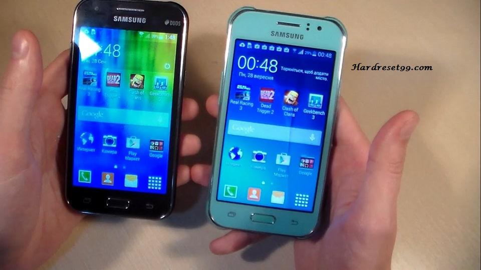 Samsung Galaxy J1 Ace 4G Duos Hard reset, Factory Reset and Password