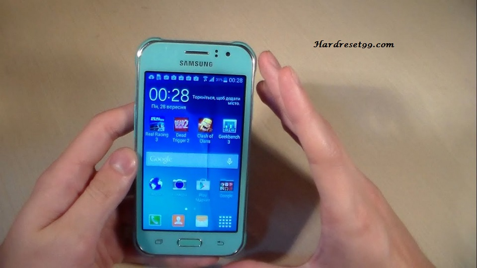 Samsung Galaxy J1 Ace Neo Hard reset, Factory Reset and