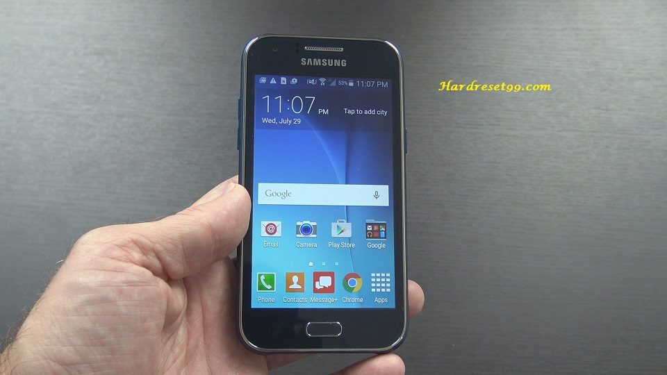 Samsung Galaxy J1 Duos Hard reset, Factory Reset and