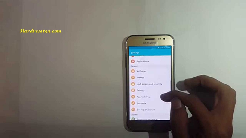 Samsung Galaxy J2 Duos Hard Reset Factory Reset And