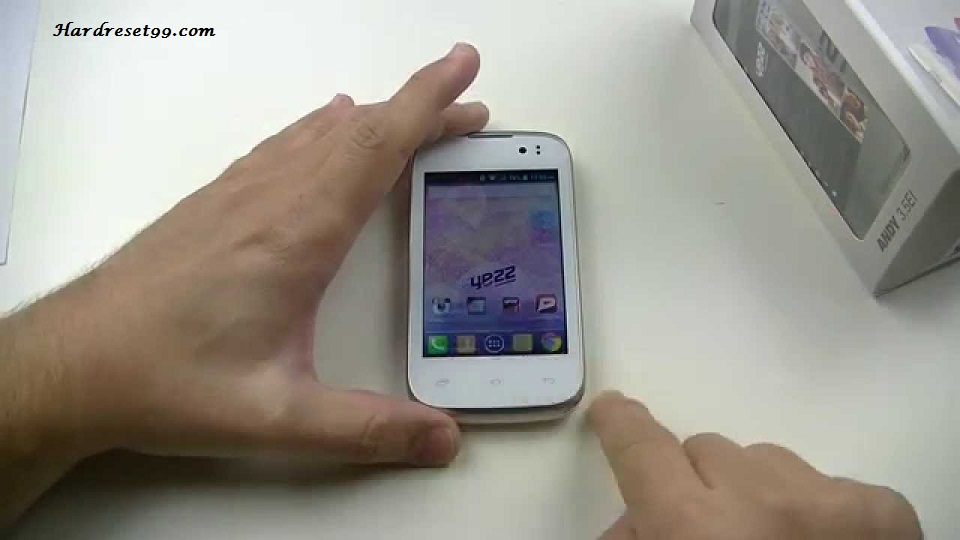 Yezz Andy 3G 3.5 Hard reset, Factory Reset and Password Recovery