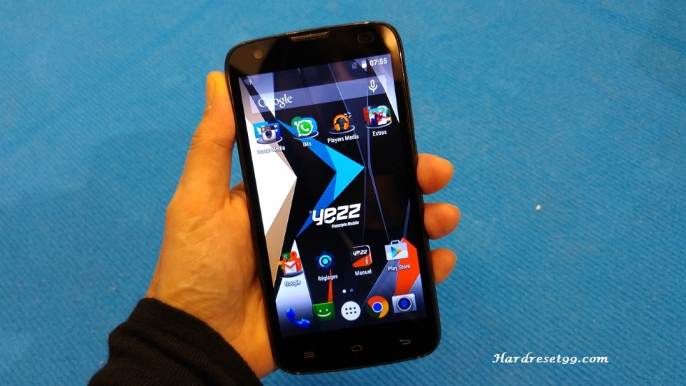 Yezz Andy 4.5 E LTE Hard reset, Factory Reset and Password Recovery