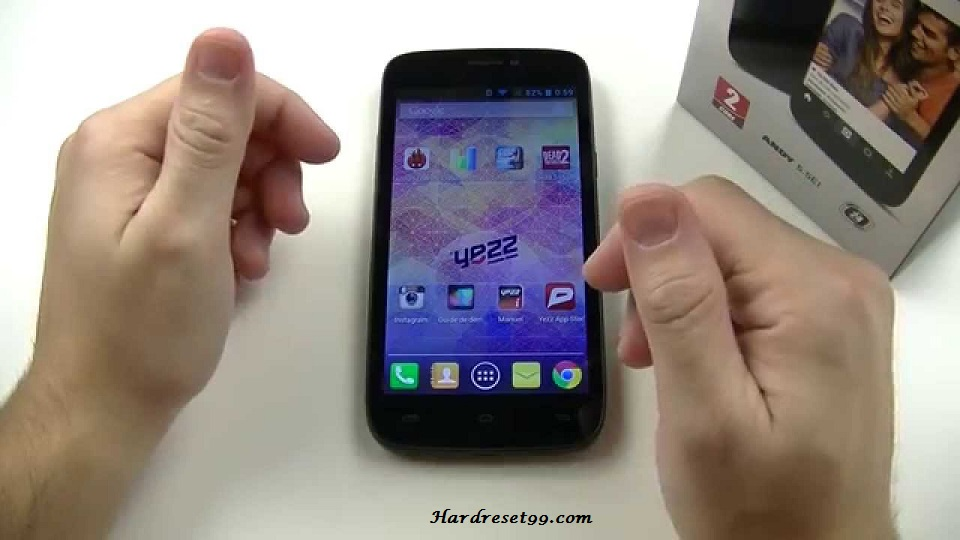 Yezz Andy 5.5EI Hard reset, Factory Reset and Password Recovery
