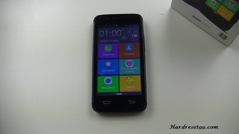 Yezz Andy AZ4.5 Hard reset, Factory Reset and Password Recovery