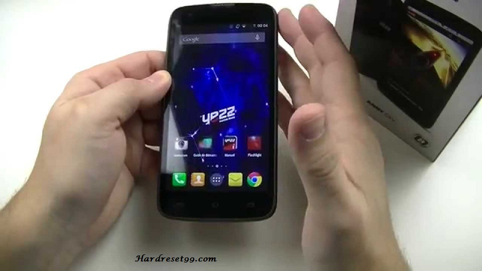 Yezz Andy C5V Hard reset, Factory Reset and Password Recovery