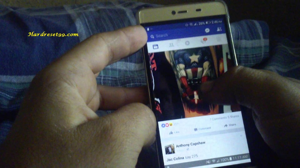 BLU Click T310 Hard reset - How To Factory Reset
