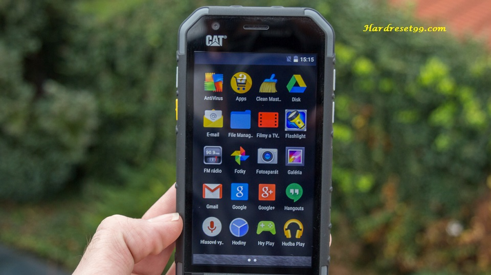 Cat S30 Hard Reset Factory Reset And Password Recovery