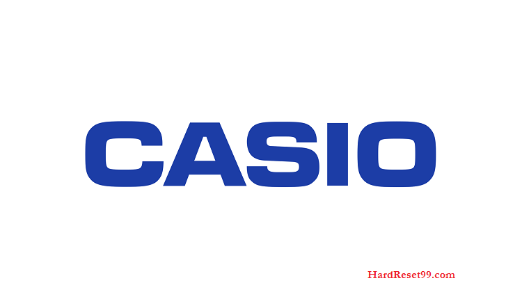 Casio List - Hard reset, Factory Reset & Password Recovery
