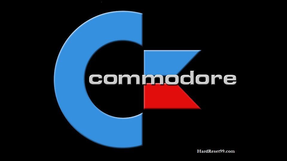 Commodore List - Hard reset, Factory Reset & Password Recovery