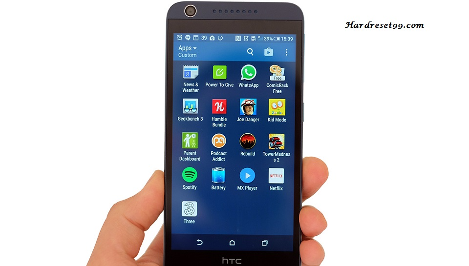 HTC Desire 626 Hard reset, Factory Reset and Password Recovery