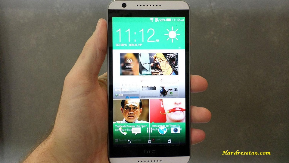 HTC Desire 820 Hard reset, Factory Reset and Password Recovery