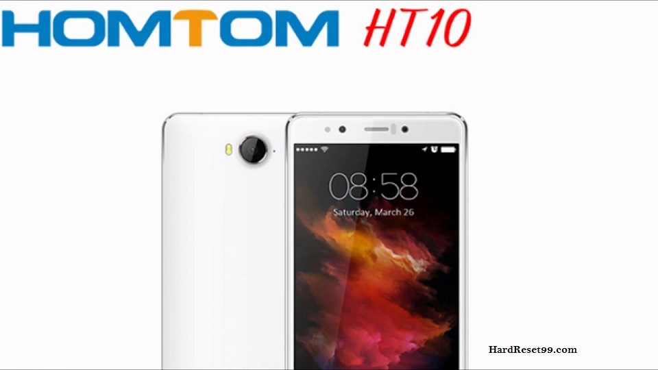 Homtom HT10 Hard reset, Factory Reset and Password Recovery