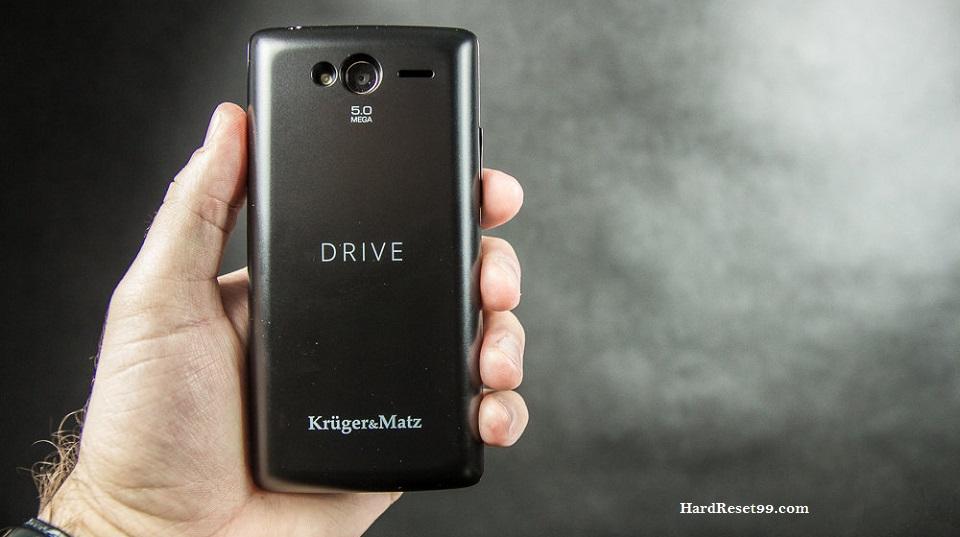 Kruger&Matz Drive Hard reset, Factory Reset and Password Recovery