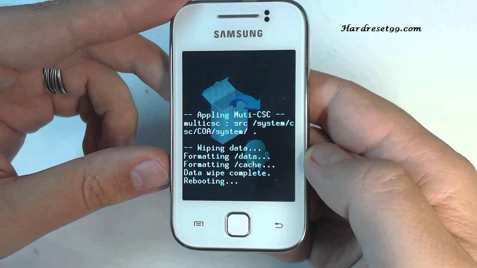 Samsung GT-S5360 Galaxy Y Hard reset, Factory Reset and Password