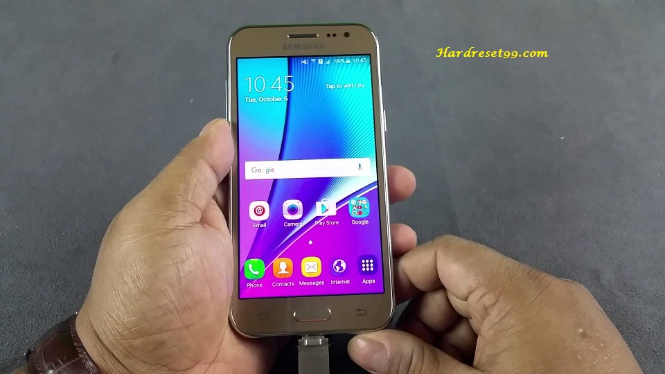 Samsung Galaxy On5 Hard reset, Factory Reset and Password Recovery